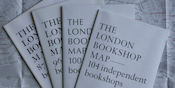 Archival gift sets of London Bookshop Maps